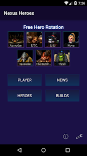 Nexus Heroes - HotS - screenshot