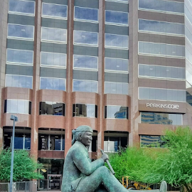 Code Talker by Carlo McCoy - Instagram & Mobile Android ( phoenix, code talk, monuments, buildings, historical, desert )