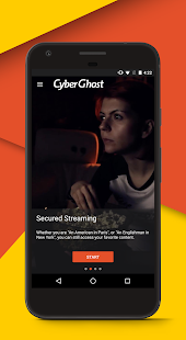 CyberGhost VPN Screenshot