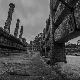 Untitelt by João Ferreira - Black & White Buildings & Architecture ( polonnaruwa, sri lanka )