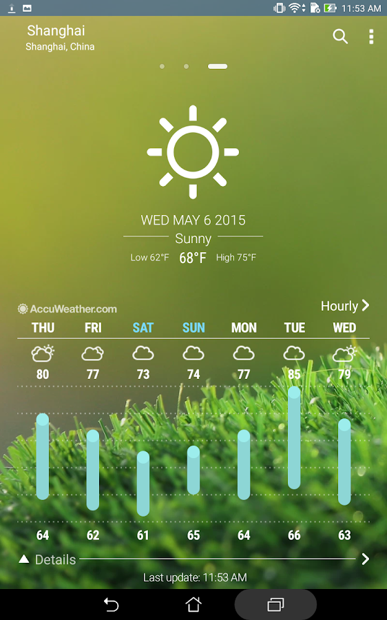 ASUS Weather Screenshot 9