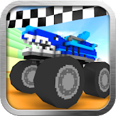 Download Blocky Monster Racing APK on PC