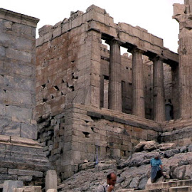 The Acropolis by Barry Lehman - Buildings & Architecture Decaying & Abandoned ( building, acropolis, greece, athens, architecture, abandoned )