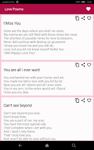 Love Poems - screenshot