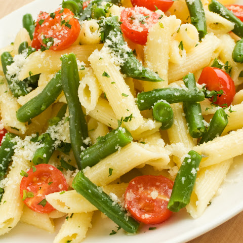 Green Bean Margherita Pasta
