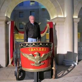 Roman cart by Maricor Bayotas-Brizzi - Transportation Other