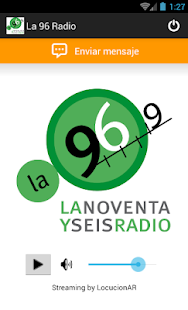 La 96 Radio - screenshot