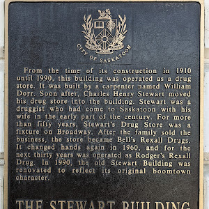 The Stewart Building From the time of its construction in 1910 until 1990, this building was operated as a drug store. It was built by a carpenter named William Dorr. Soon after, Charles Henry ...