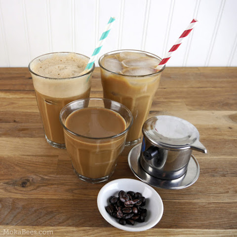 Vietnamese Coffee Three Ways - Hot, Iced & Shaken