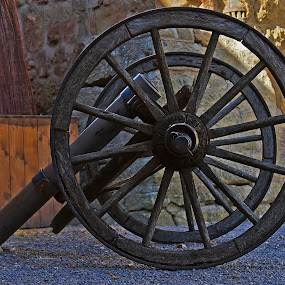 old cannon by Thomas Stroebel - Artistic Objects Antiques ( old, steinsberg, antique, gun, historic, cannon )