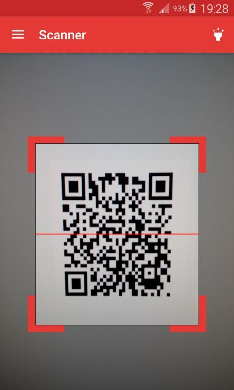 ScanDroid code scanner (PRO) Screenshot 0