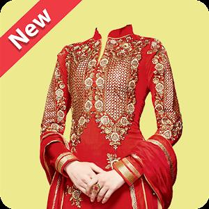 Women Salwar Photo Suit Editor For PC (Windows & MAC)