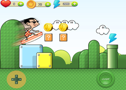 Impossible Surfing mr Bean - screenshot