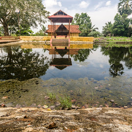 A Temple in rural Kerala by Neelakantan Iyer - Buildings & Architecture Places of Worship