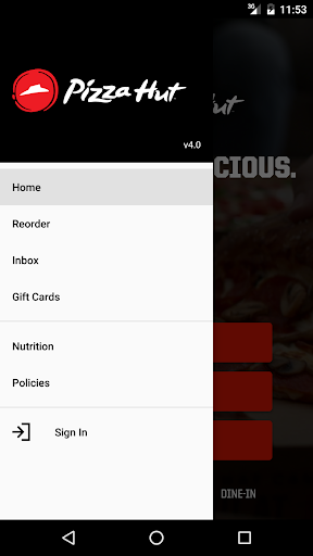 Pizza Hut screenshot 2