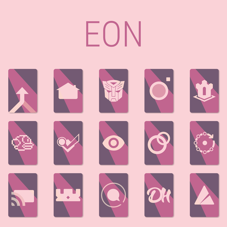 EON Iconpack - Preview Screenshot 1
