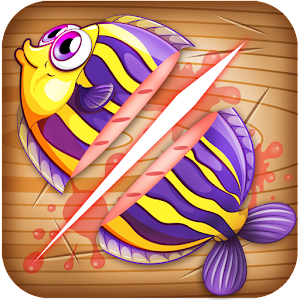 You must act like a ninja to cut all these cute fish. APK Icon