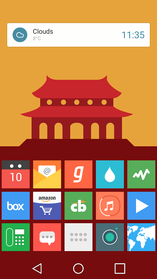 Flatout Minimal IconPack Theme Screenshot 3