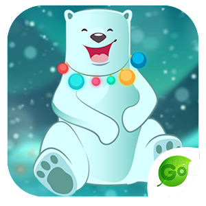 GOKeyboard Polar Teddy Sticker