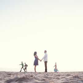 Hold Me by Yansen Setiawan - Wedding Other ( sweethearts, lovers, wedding, couple, beach, engagement )