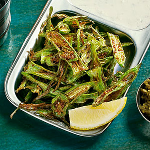 Crisp Chile-Lime Okra