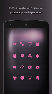PipTec Pink Icons & Live Wall- screenshot thumbnail
