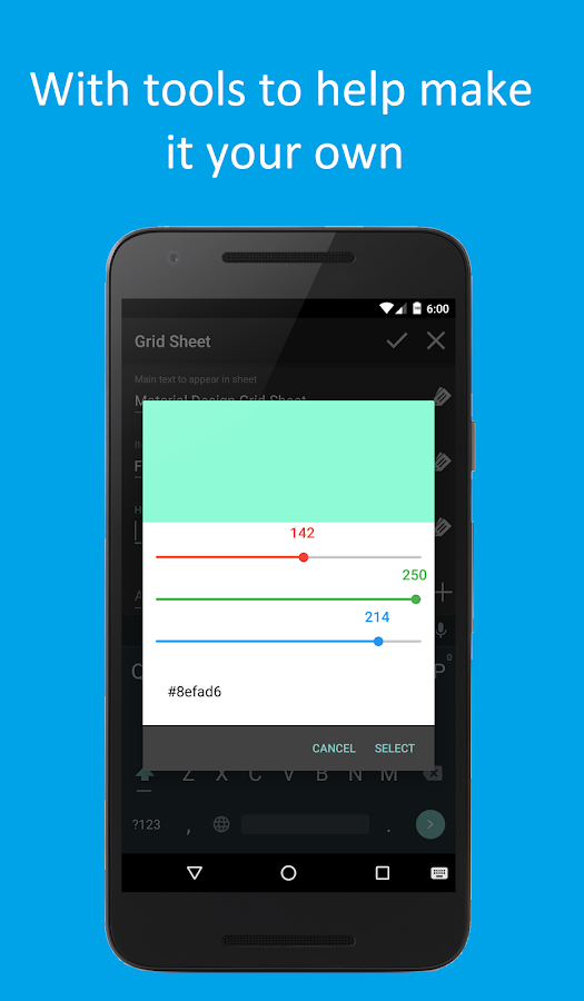 Material Design Tasker Plugin Screenshot 5