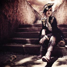 Pirates by Danny Tan - Digital Art People ( carribean, pirates, 2013, danny, designer, calypso, malaysia, kl, photography, kuala lumpur, fantasy, 2012, photographer, black, tan )