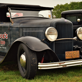 Old truck by Benito Flores Jr - Transportation Automobiles ( austin, truck, texas, car show )