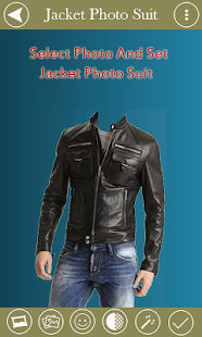 Man Jacket Photo Suit - screenshot