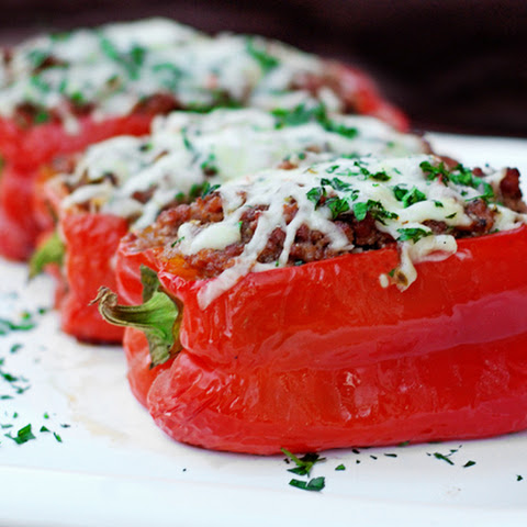 Stuffed Peppers On The Grill - Redux