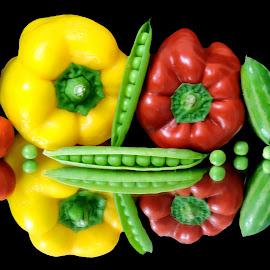 HOT CHILLIES by SANGEETA MENA  - Food & Drink Ingredients