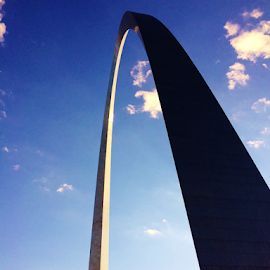 Gateway Arch  3884 by Jim Suter - Buildings & Architecture Statues & Monuments