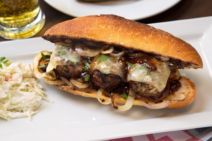 Grilled Meatball Subs Recipe | Yummly