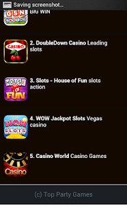 The Party Casino Games - screenshot