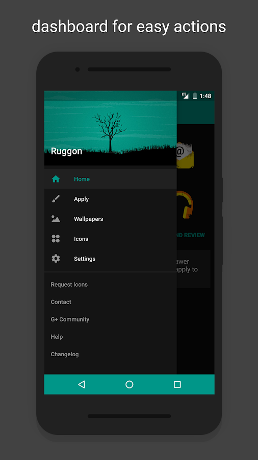 Ruggon - Icon Pack Screenshot 6