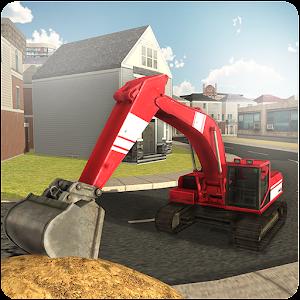 Cover art Sand Excavator Truck Sim 2017