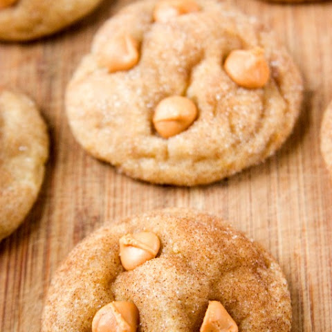 Soft and Chewy Butterscotch Snickerdoodles