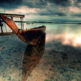 Boats... by Ji Pan - Transportation Boats ( hdr, boats, landscapes )