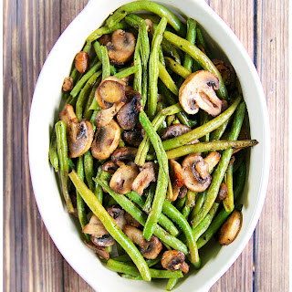 Baked Green Beans With Mushrooms Recipes