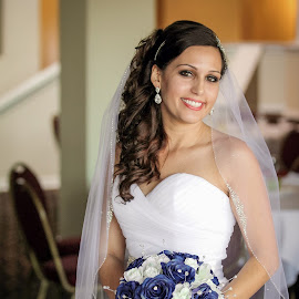 Dana by Tony Bendele - Wedding Bride ( wife, wedding, smile, bride, eyes )