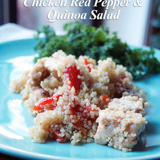 Chicken, Red Pepper and Quinoa Salad
