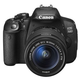 Canon EOS 700D 18MP với Lens KIT 18-55mm STM (Đen)             ...
