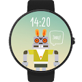 Rabbot Watch Face Android FWF APK for Ubuntu