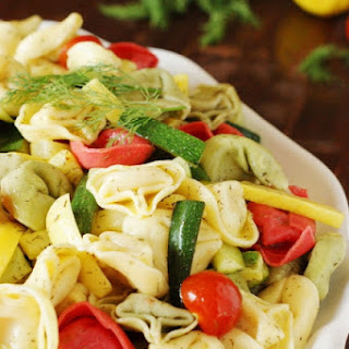 Summer Vegetable Tortellini Salad