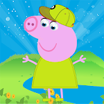 Girl and the pig APK Image