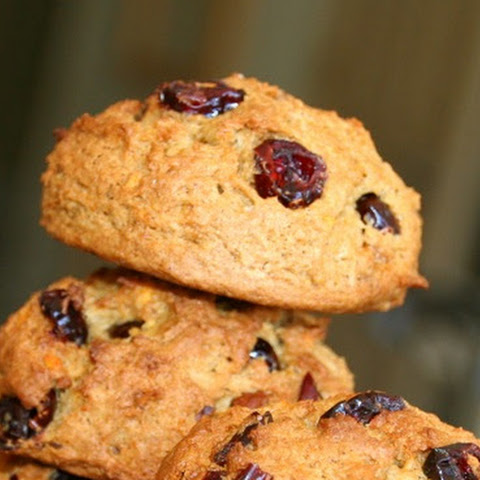Sweet Potato Cranberry Nut Cookies