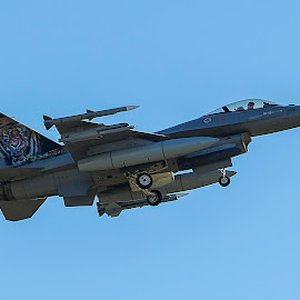 F-16 by Jan Egil Syversen - Transportation Airplanes ( plane, airplane, jet, military, airshow )
