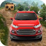 VR Car Rally - Offroad Drive Icon