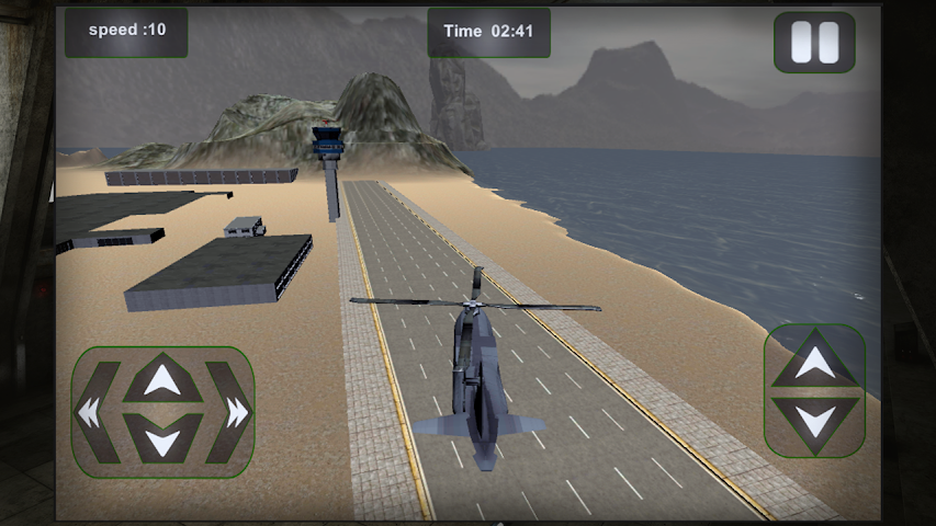 android Relief Cargo Helicopter Screenshot 5